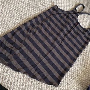 Lululemon black brown stripe Razorback